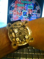 Watch with prototype acrylic
