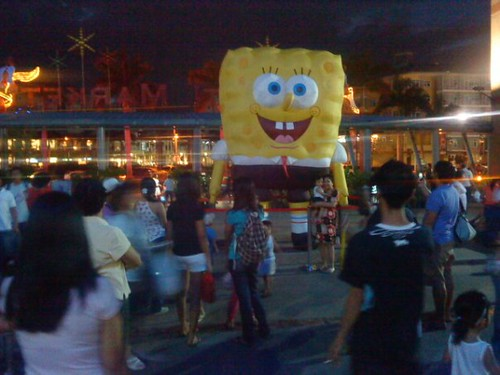 spongebob at market market