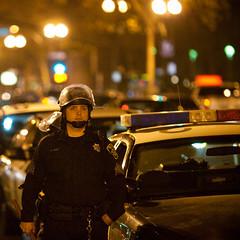 There is No Hope (Thomas Hawk) Tags: california usa america oakland cops unitedstates unitedstatesofamerica police eastbay califorina oaklandpd opd oscargrant oaklandriot oaklandriot2009 oaklandriots2009 oscargrantriots oaklandriots
