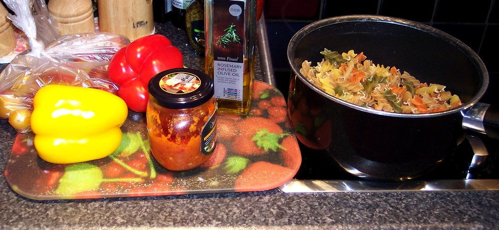 Cooking Crafts: My Pasta Salad Recipe (334/365)