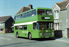 034-13 (Sou'wester) Tags: bus buses nbc hall vectis isleofwight publictransport drill leafgreen freshwater psv southernvectis nationalbuscompany