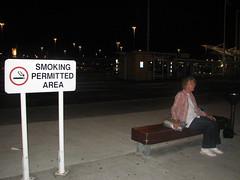 Smoking Area 1