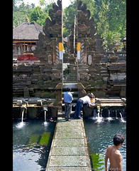 they are not all saints who use holy water (oliver_selwyn (view LARGE on black!)) Tags: vacation bali water pool river indonesia temple ancient nikon all crystal who saints holy exotic springs lp use they lonelyplanet powers bathing monuments hindu 12th edition magical ubud sungai balinese waterspouts p202 tirtaempul tegallalang puratirtaempul d700 wwwoliverselwyncom ©wwwflickrcomoliverselwyn gunungkawai pakerisan theyarenotallsaintswhouseholywater