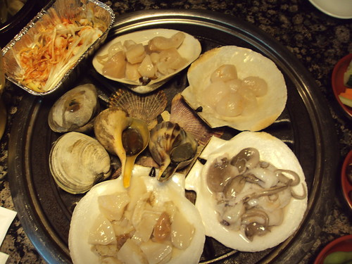 Top View of Seafood