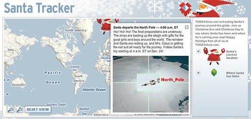 Today Santa Tracker