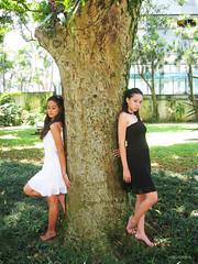 (UNGORGEOUS) Tags: wild tree glitter fairytale garden profile sparkle elf fairy barefoot beautifulgirls blackdress closedeyes whitedress brownskin whiteskin elfear sparklingeyes glittereseyes