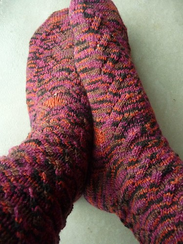 Sable Soybean Socks