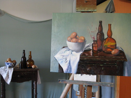 WIP {tabletop still life}