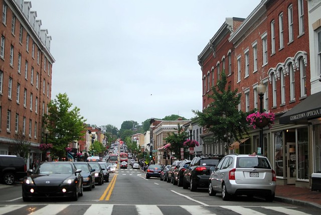 crazybusy georgetown on saturday afternoon