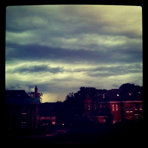 Moody skies in N21