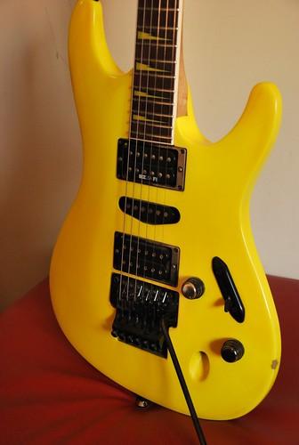 1991 Ibanez FGM100 Desert Yellow