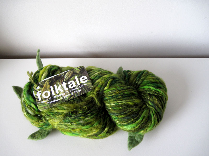 spin green: folktale yarn