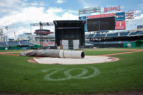 Nationals Park ready for Face 2 Face Elton John Billy Joel concert