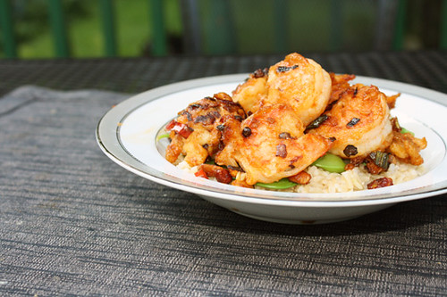 Meat-Free Friday: Kung Pao Shrimp 2