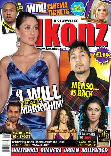 Kareena Kapoor magazine cover