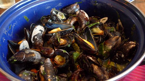 Mussels are in season now! by you.