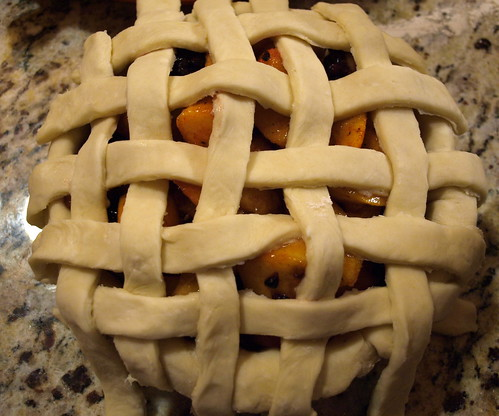 lattice crust is formed