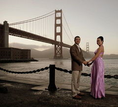 Love at the Golden Gate (Petra Cross) Tags: sanfrancisco wedding engagement goldengatebridge goldengate bubli zaskodnik