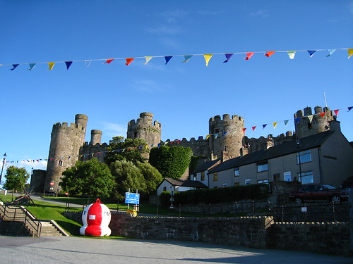 Conwy城