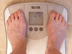 Day 217/365 - I lose water weight and sometimes see the 120s briefly before bouncing back up - by Newbirth35