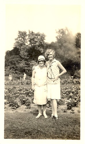Vintage 1920's Two women