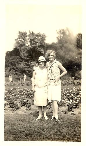 Vintage 1920's Two women