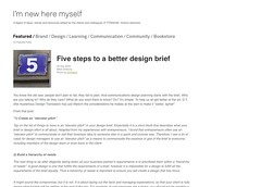 Titanium - Five steps to a better design brief_1249599809260