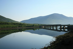 Cahersiveen (granardblue) Tags: bridge ireland light irish landscape natural kerry relfections cahersiveen irishlight