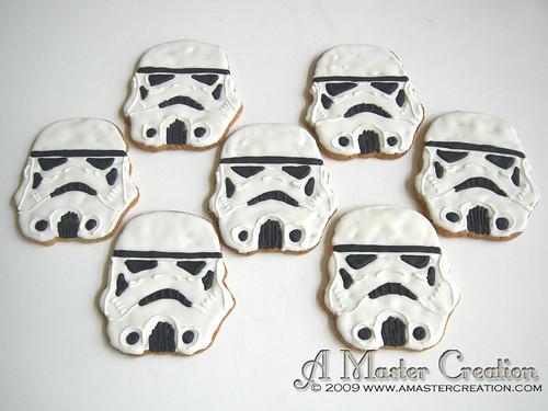 Storm Trooper Wedding Cookies