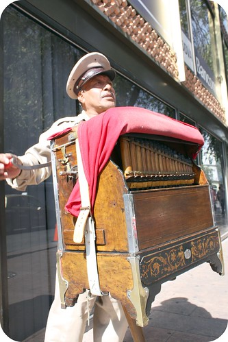 zocoloMexico city, Organ Grinder by you.