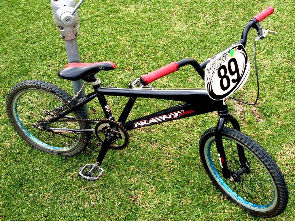 My race BMX bike