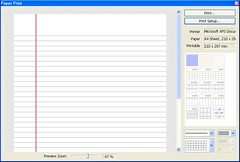Paper editing software