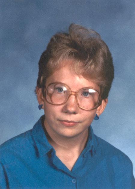 Alyce in 1986