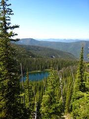 Parker Lake, Selkirk Mountains, North Idaho