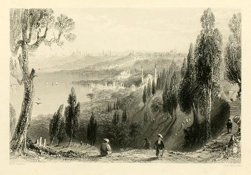 002-Eyoub-Las bellezas del Bosforo 1838-W.H. Bartlett