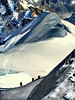 Salendo alla Aiguille du Midi (Marioleona) Tags: alps ice alpes mario glacier mount climbing monte blanche chamonix alp mont glaciar blanc ghiaccio valdaosta ghiacciaio vallèe platinumphoto mountainsnaps mountainsociety mariobrindisi cainapoli