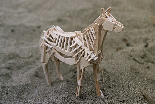 Wooden Horse by Suzanne Forbes (photo by mikest)