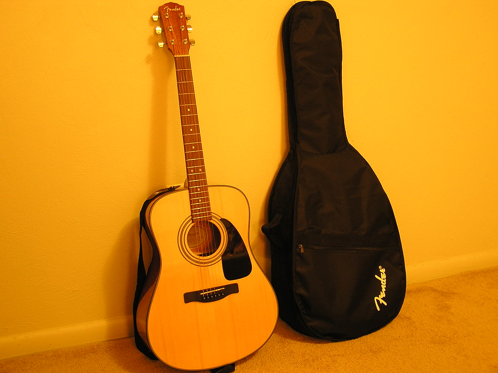 Guitar and Bag