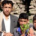 Proud young qat sellers
