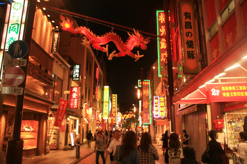 China Town, Yokohama, Japan by shinyai, on Flickr