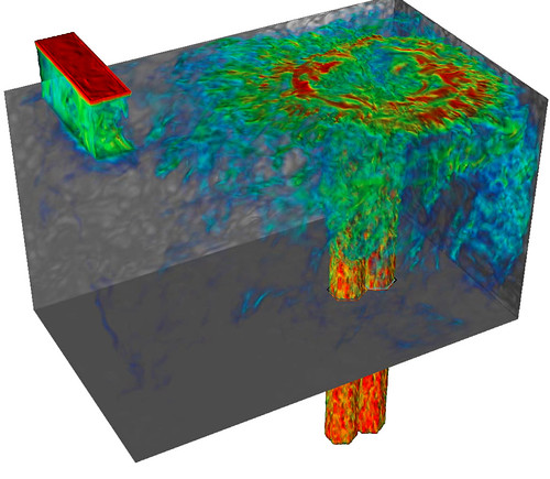 Simulating turbulent flow in next-generation nuclear reactors