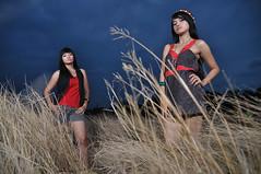 Two girls (maninerror (hanif)) Tags: lighting indonesia model jakarta alienbee sb800 d90 strobist tamron1750mmf28 ab1600