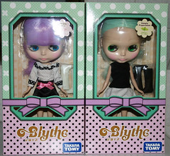 """Blythe """"Simply Lilac"""" and """"Simply Peppermint"""" arrived!"""