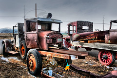 All Hauled Out (Weije) Tags: junkyard boneyard oldtrucks restorations rustytrucks bej colorphotoaward theweielperspective weije restorationstravelsthroughthetimetunnel
