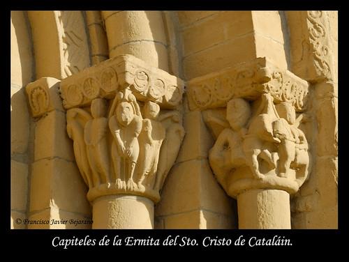 Capiteles de la Ermita de Sto. de Catalain