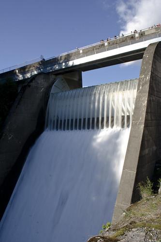 Capilano Dam (devant)