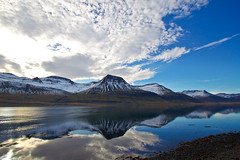In Reyðarfjörður (*Jonina*) Tags: mountains reflection clouds iceland ísland ský speglun blueribbonwinner fjöll coth 50faves 25faves reyðarfjörður reydarfjordur goldstaraward goldstarawardgoldmedalwinner worldwidelandscapes absolutelystunningscapes theoriginalgoldseal peregrino27newvision