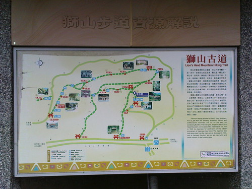獅山步道系統