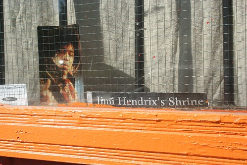 Jimi Hendrix Shrine