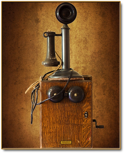 The Phone on the Farm by Romair